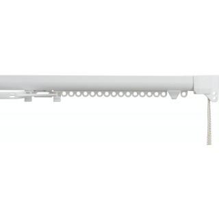 Silent Gliss SG 3840 Corded White Aluminium Curtain Track