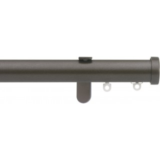 Silent Gliss 6130 Metropole 30mm Bronze Stud Endcap Aluminium Curtain Pole