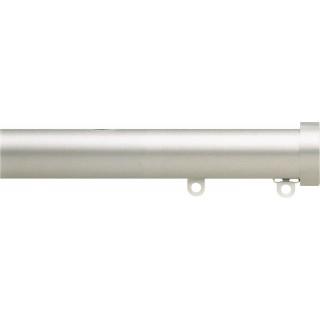 Silent Gliss 6130 Metropole 30mm Silver Stud Endcap Aluminium Curtain Pole