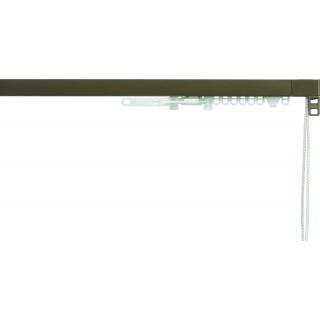 Silent Gliss System 3870 Corded Antique Bronze Effect Aluminium Curtain Track