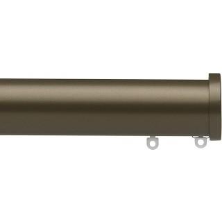 Silent Gliss 6140 Metropole 50mm Antique Bronze Stud Endcap Aluminium Curtain Pole