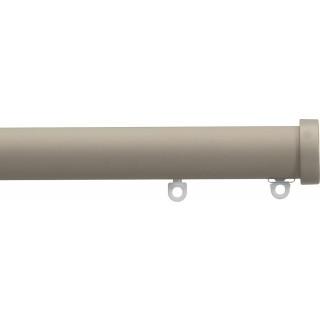 Silent Gliss 6130 Metropole 30mm Ochre Stud Endcap Aluminium Curtain Pole