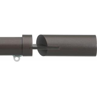 Silent Gliss 6130 Metropole 30mm Bronze Matched Fused Barrel Aluminium Curtain Pole