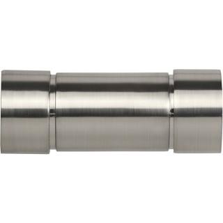 Speedy Poles Apart 28mm Satin Silver Aspect Finials (Pair)