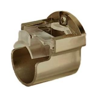 Speedy Poles Apart 28mm Antique Brass Effect Recess Brackets