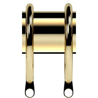 Speedy Nikola 28mm Bright Brass Effect Rings