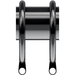 Speedy Nikola 28mm Polished Graphite Effect Rings