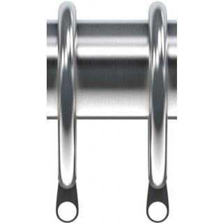 Speedy Nikola 28mm Satin Silver Effect Rings