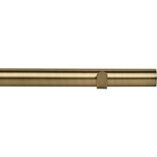 Speedy Poles Apart Eyelet 28mm Antique Brass Effect Semi Complete Metal Curtain Pole