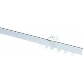 Speedy Fineline White Effect Aluminium Curtain Track - FINELINE-WH
