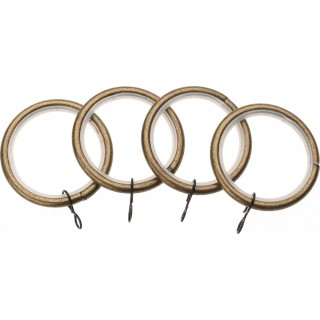 Vogue Deluxe 19mm Antique Brass Rings