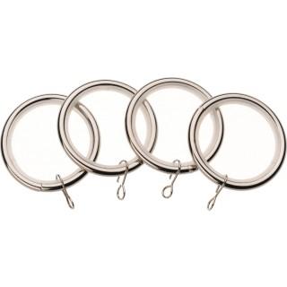 Vogue Deluxe 28mm Satin Steel Rings