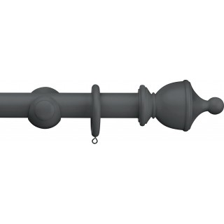 Swish Romantica 35mm Cobble Stone Urn Wood Curtain Pole
