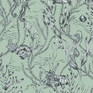 Seahorse Wallpaper 70030 by Today Interiors