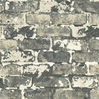 Faux Bricks Wallpaper IR70200 by Today Interiors