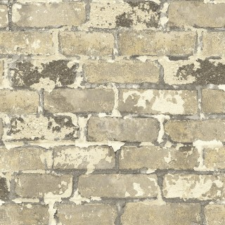 Faux Bricks Wallpaper IR70205 by Today Interiors