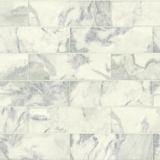 Marble Tile Wallpaper IR70302 by Today Interiors