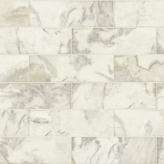 Marble Tile Wallpaper IR70305 by Today Interiors