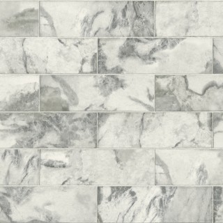 Marble Tile Wallpaper IR70308 by Today Interiors