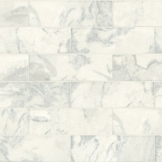 Marble Tile Wallpaper IR70310 by Today Interiors
