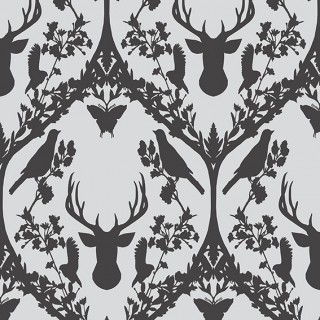Today Interiors Fauna Flock Wallpaper 58040