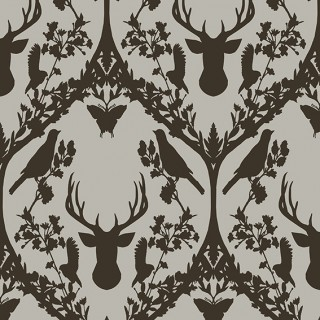 Today Interiors Fauna Flock Wallpaper 58043