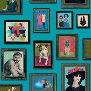 Wunderkammer Seventeen Wallpaper 346-347 461 by Today Interiors
