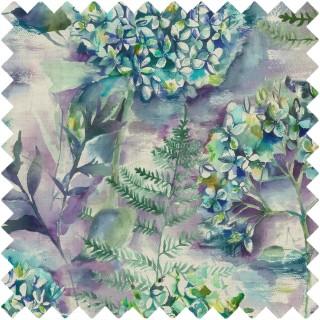 Flourish Fabric FLOURISH/TEAL by Voyage