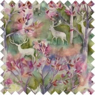 Seneca Forest Fabric SENECAFOREST/SPRING by Voyage