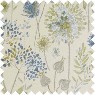 Voyage Flora Cream Fabric FLORACREAM/DUCKEGG
