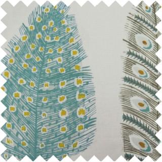 Voyage Samui Print Fabric SAMUIPRINT/PEACOCK