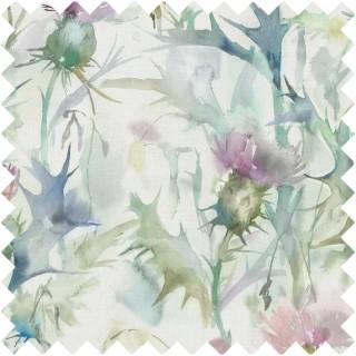 Cirsiun Fabric CIRSIUN/CREAMDAMSON by Voyage