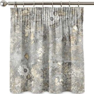 Earthed Faded Grandeur Stone Fabric
