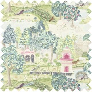 Peacock Garden Fabric 321684 by Zoffany