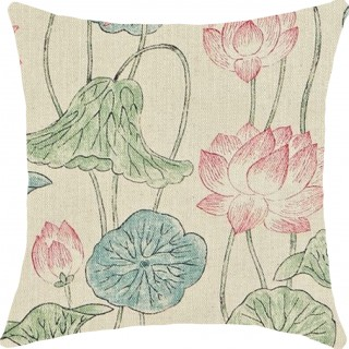 Lotus Flower Fabric 320812 by Zoffany