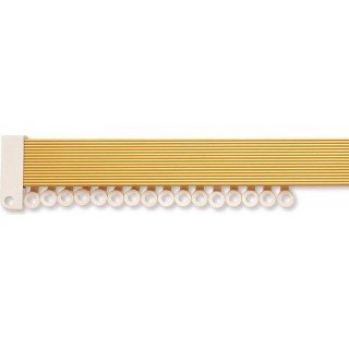 Rolls Superglide Gold Effect Metal Curtain Track