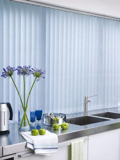 Decora Fabric Box Metz 89mm Vertical Blind
