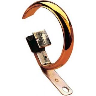 Harrison Drape Finale-Golden Glide 25mm Brass Effect Rings