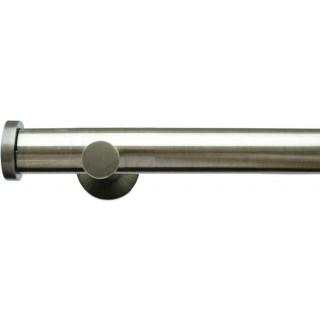 Jones Lunar 28mm Burnished Brass Effect Metal Eyelet Curtain Pole