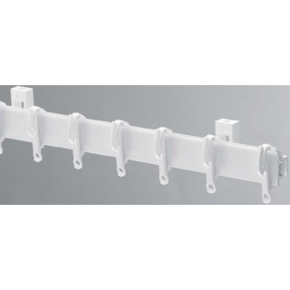 Swish Sologlyde White Effect Plastic Curtain Track